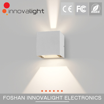 INNOVALIGHT modern 6w outdoor led cube wall light