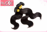 Machine made strong weft full cuticle high quality cutting from young girl 5A malaysian body