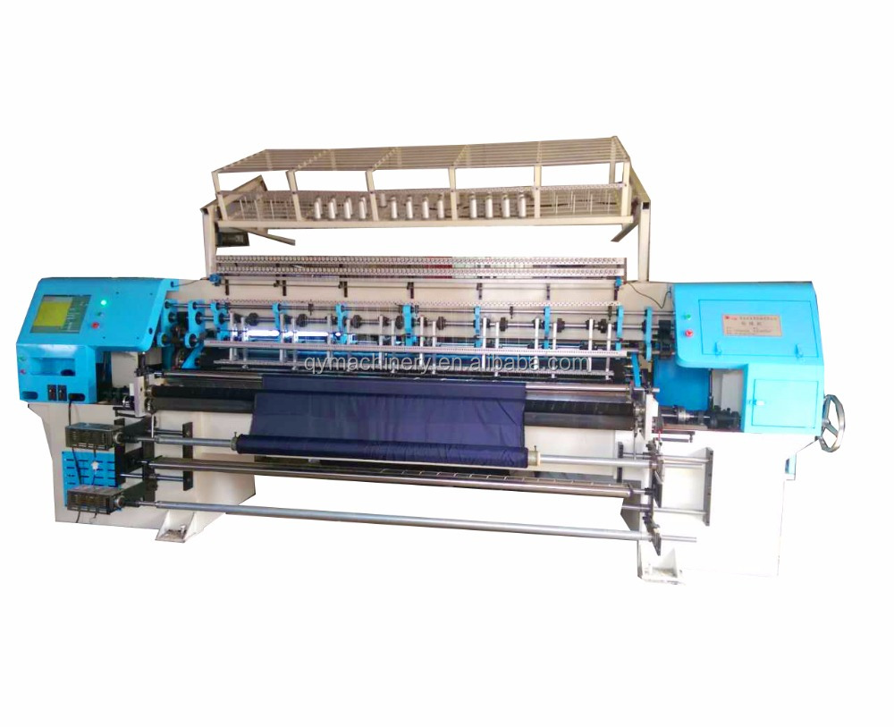 industrial computerized 2-needle juki electric multi needle long arm sewing quilting machine