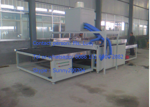 Glass washing machine Vertical glass washing machine / reflective glass washing machine