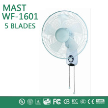 china manufacturer fashion wall fan with good quality/plastic ultra-quiet 360 degree rotation largest wind usb wall fan