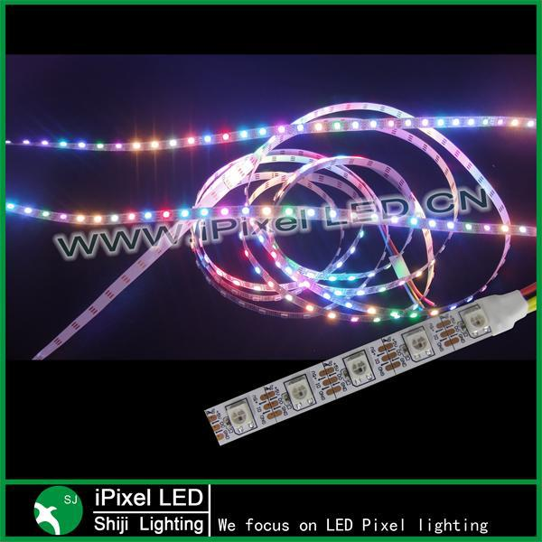 smd 5050 rgb flexible led strip (60led/m) ws2812b with 3pin connector