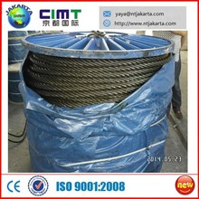 galvanized steel wire rope / steel cable 6X36 price
