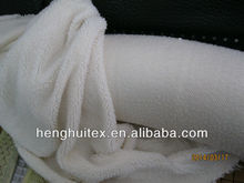 100% polyester solid color berber fleece fabric