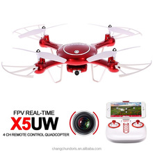 Latest model X5UW Syma RC Drone Quadcopter with Canera Remote Control Toy Helicopter for Outdoor Hobby