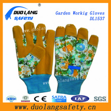13gauge PVCPalm Coated/ Dipped Cotton Work Safety Garden Gloves