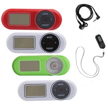 Hot sales Portable FM Scan with PLL digital tuner and auto memory station radio