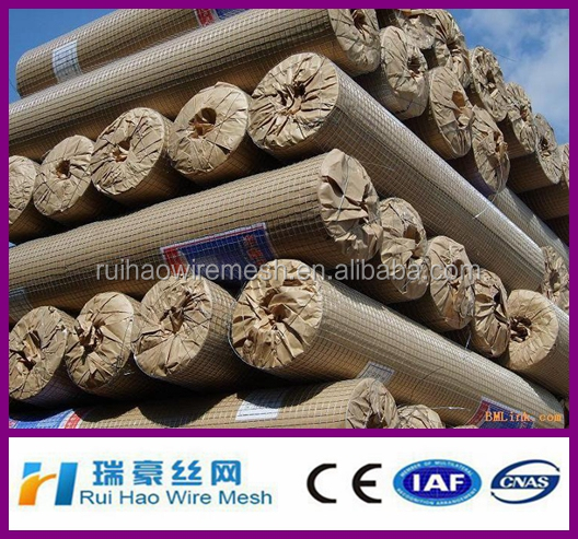 6x6 concrete reinforcing welded wire mesh roll