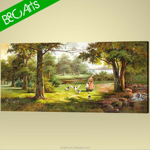 YF(7343) 2015 Classical Forest Landscape Painting