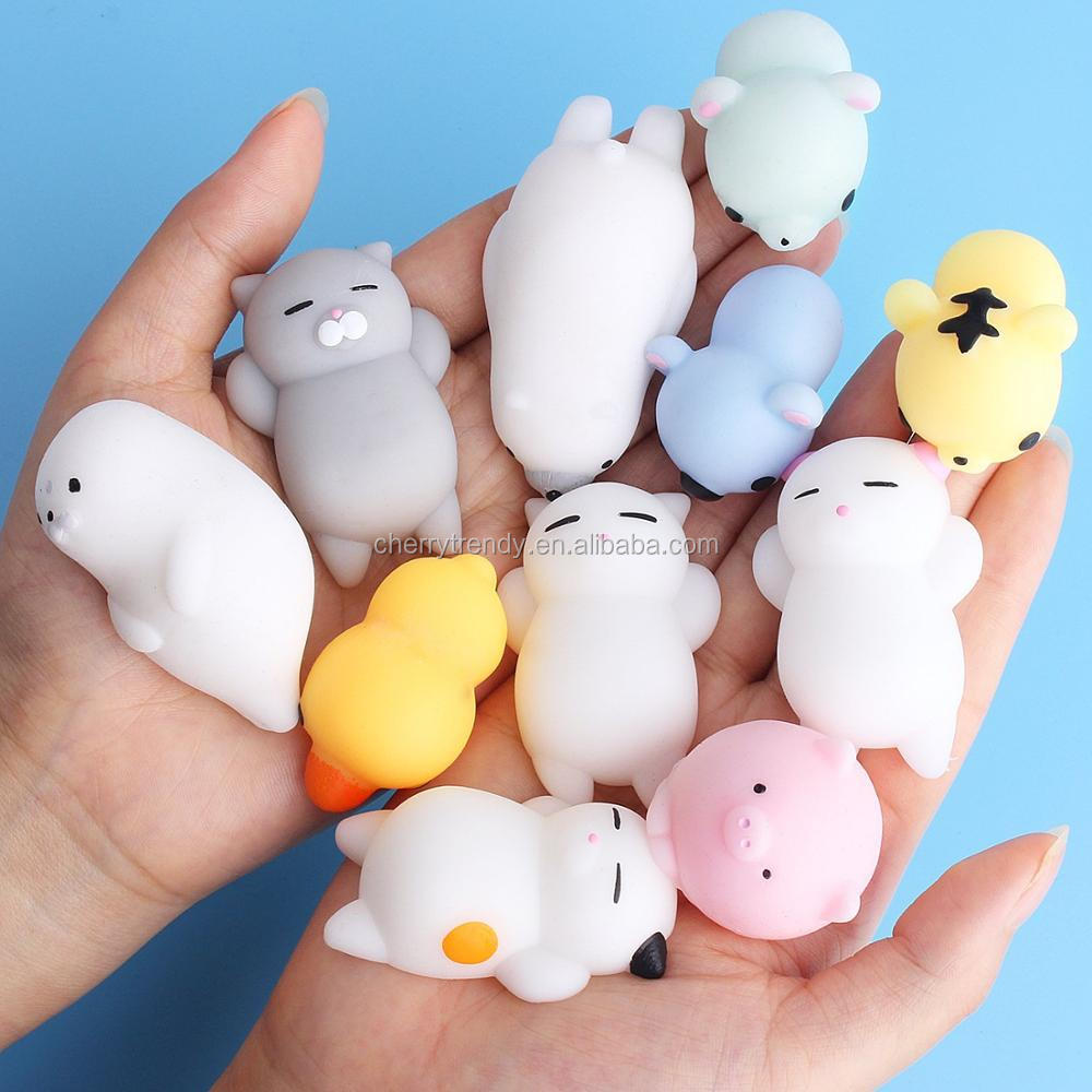 Mochi Squishy Toys Kawaii Animals Stress Toys