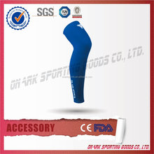 Custom Color protective Lycra Sports Leg Compression Sleeves