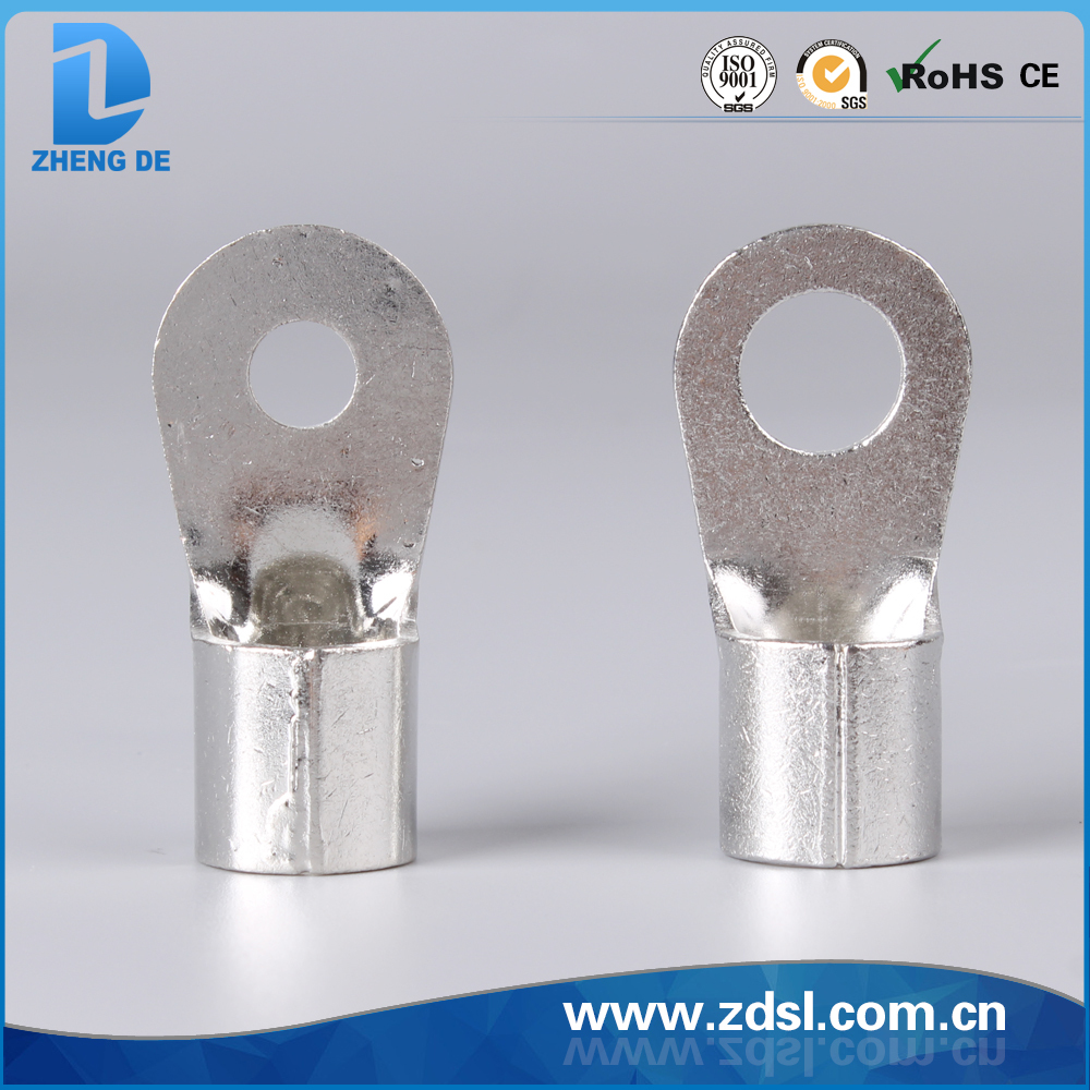 Factory wholesale Non-Insulated Ring Terminal,stainless steel ring terminal