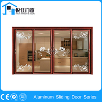 China supplier aluminum alloy door for pantry