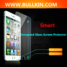 2016 New Screen Protector With Return Button and Confirm Button Two Smart Keys Tempered Glass Screen Protector for Mobile Phone