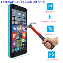 9H 0.25mm Toughened Scratch screen protector Premium glass tempered for NOKIA LUMIA 520 Flame