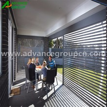 Clear panel pc polycarbonate rolling shutters /doors/gates