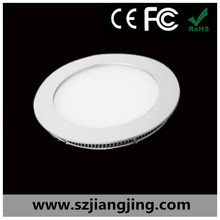 Hot sale thin small size Epistar SMD 2835 3000k round led ceiling panel light 8w for home use