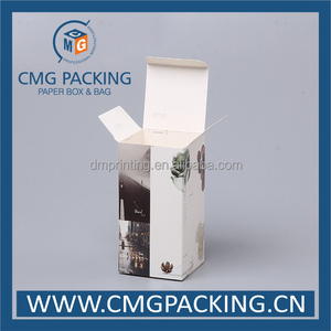 thin card nursing bottle packing box with logo print