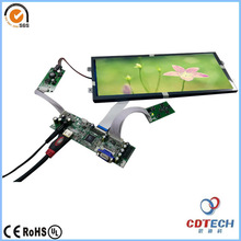 TFT Type 12.3inch samsung tv panel lcd video wall for shopping mall / bar
