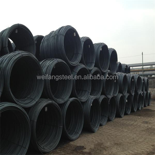 7mm hot rolled steel wire rod