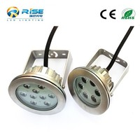 Above ground 18w rgb led swimming pool light made in Shenzhen