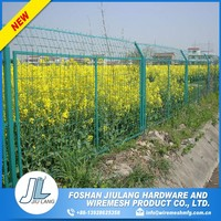 counter bending eco friendly temporary fence panel