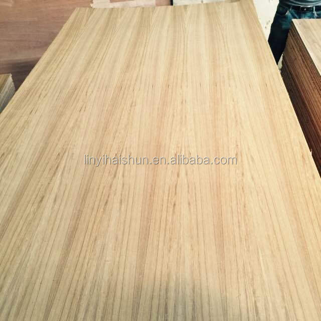 4*8 AA grade Natural Teak veneer fancy plywood for sale