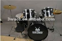 Soldier JAZZ Drum Set