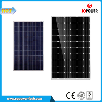 300W 36V High Efficiency Monocrystalline Photovoltaic Panel for Sale
