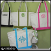 Wholesale Monogrammed Environmental Canvas Tote Bag