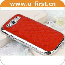Colorful leather case for samsung S3 i9300,hot cell phone case for girl and women