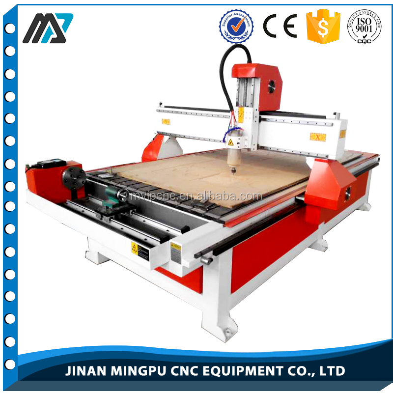 3.2kw spindle ER20 1325 4th axis smart cnc router