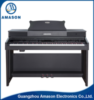 Amason Good Quality upright digital piano china with hammer action