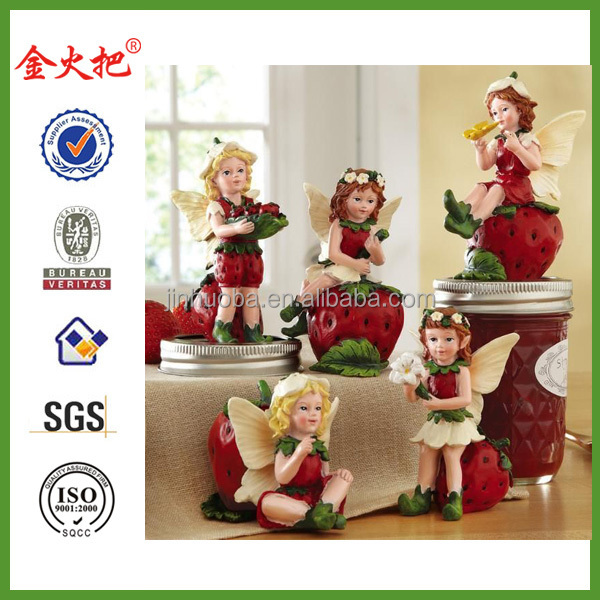 Sweet Strawberry Fairy Collectible Sitters