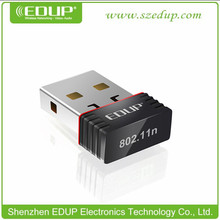 EDUP EP-N8508 con Chipset Realtek8188cus 150Mbps Mini Wireless USB 802.11N Wifi Wifi del adaptador del Dongle