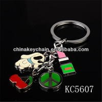 Wholesale stage decoration items for graduation lovely keychain