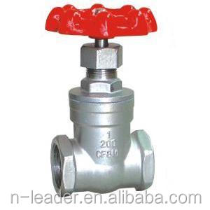 screw stainless steel gate valve