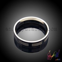 Simple Designs Ring With Stainless Steel