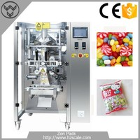 5-70 Bags/min max film width 420mm candy chocolate weighing packing machine