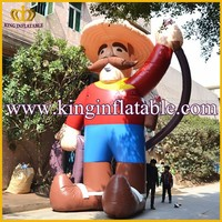 8mH Factory Sale New Style Advertising Giant Inflatable Man Figures