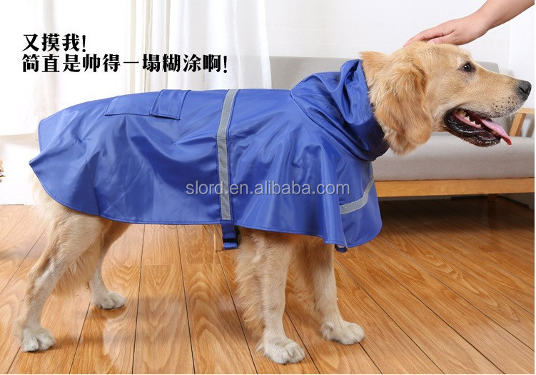 Wholesale wholesale Colorful dog raincoat Pet Dog Cat Cheap Raincoats Waterproof