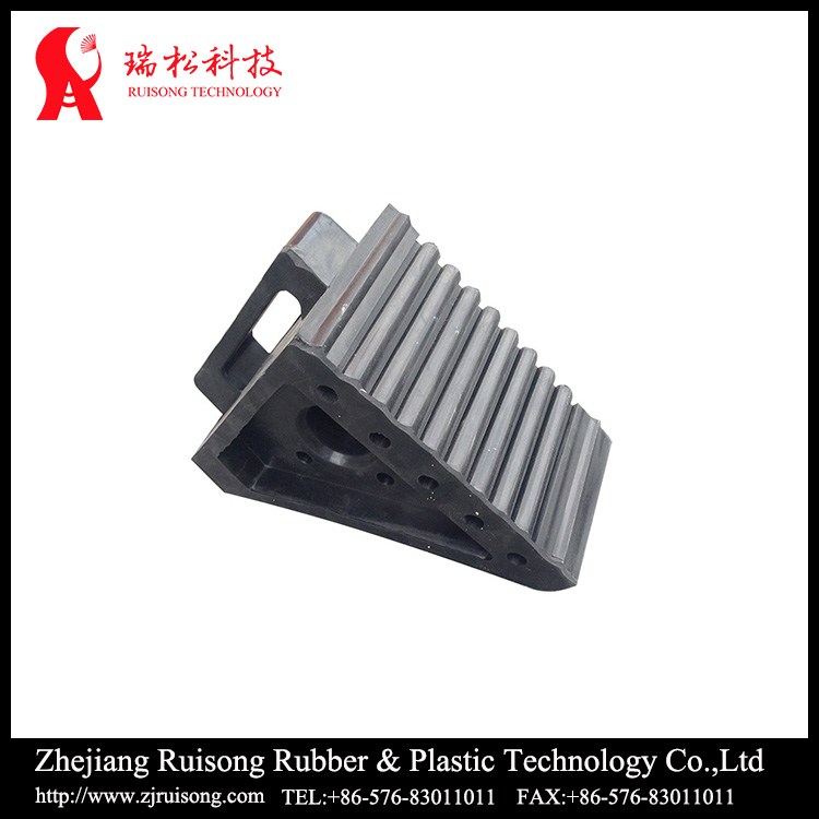 Traffic safety car parking wheel chock blocks with low price