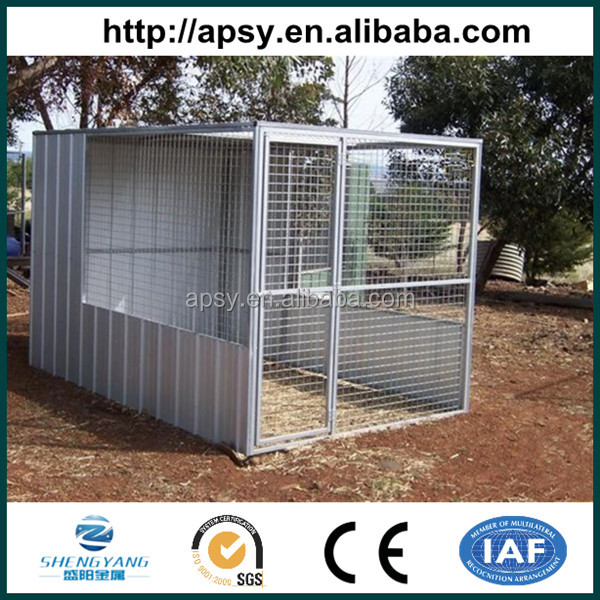PVC coated large outdoor wire grill bird cage