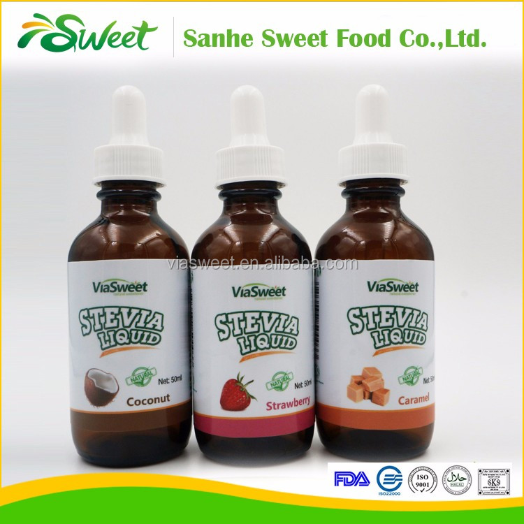 Stevia Sweetener Liquid Favour Drops Sugar For Diabetics
