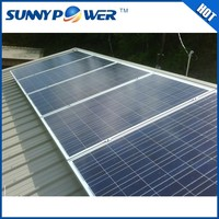 Full certificate confirmed 1000 watt solar panel for solar system