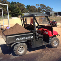 4wheel diesel UTV used amphibious atv for sale