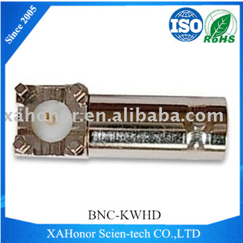 BNC Female Right Angle connector for PCB