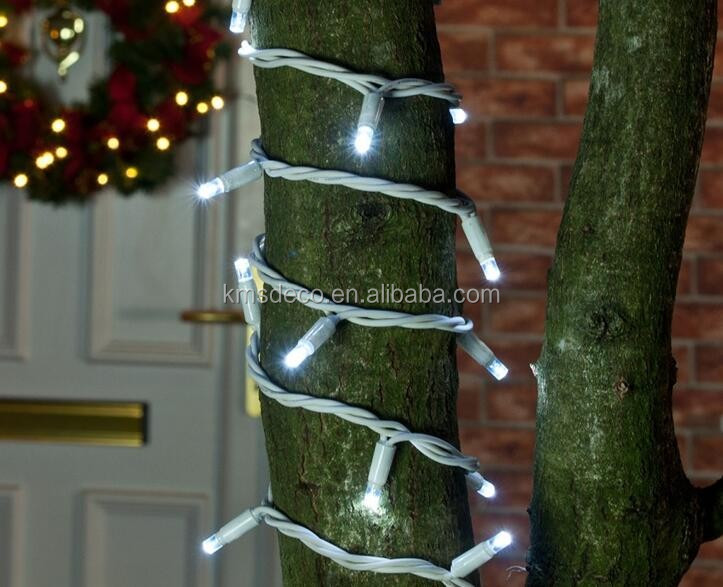Professional 240 volt christmas lights rubber cable waterproof
