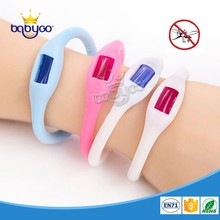 Food grade silicone mosquito bracelet natural repel mosquito devices