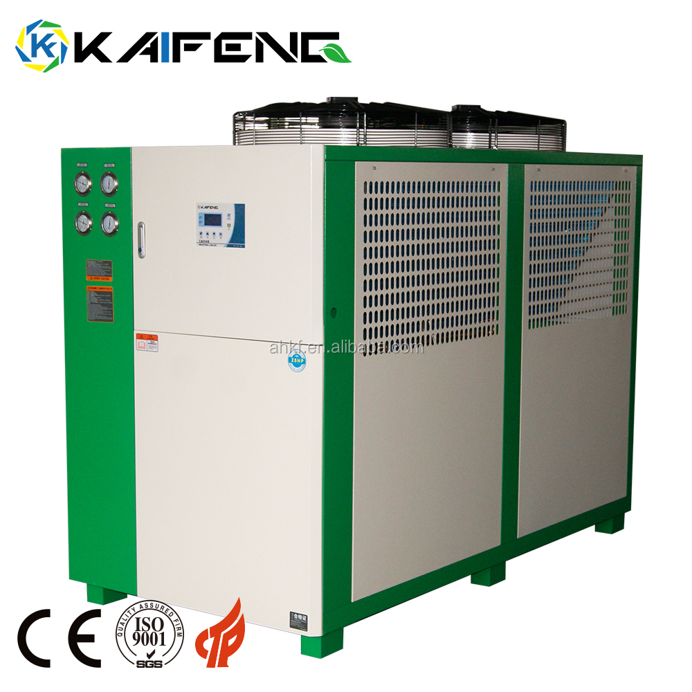 50kw Water-cooled Scroll Water 10 Tr Sea Hyper Chiller 50 Kw
